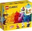 LEGO LEGO 11013 Briques transparentes créatives 673419336239