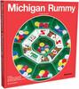 Pressman Toy Corporation Rummy Michigan, boîte rouge (sans cartes à jouer) 021853055511