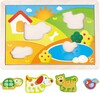 Hape Casse-tête Sunny Valley Puzzle 3in1 6943478016958