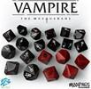 Modiphius Vampire Masquerade 5th (en) Dice Set 5060523341023