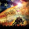 SunsOut Casse-tête 1000 La Constitution des États-Unis et l'élévation du drapeau sur Iwo Jima (The Constitution) SunsOut 51793 796780517936