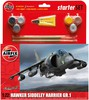 Airfix Modèle à coller avion Hawker Harrier GR1 1/72 5014429552052