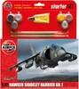 Airfix Modèle à coller avion Hawker Harrier GR1 1/72 5014429552052