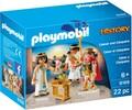 Playmobil Playmobil 9169 César et Cléopâtre 4008789091697