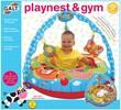 Galt Toys Playnest coussin gonflable matelassé d'activités et gym de la ferme (beigne/tube) 5011979558077