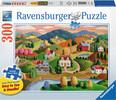 Ravensburger Casse-tête 300 Large Les collines 4005556135837