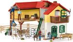 Schleich Schleich 42407 Ferme avec étable et animaux 4055744021060