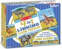 Melissa & Doug Casse-tête plancher 24x4 animaux safari à connecter Melissa & Doug 8915 000772089159