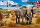 Jumbo Casse-tête 500 Savane africaine, éléphants 8710126188026