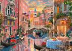 Clementoni Casse-tête 6000 coucher du soleil à Venise, Italie 8005125365241