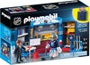 Playmobil Playmobil 9176 LNH Coffret transportable Vestiaire de hockey (NHL) 4008789091765