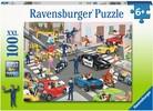 Ravensburger Casse-tête 100 XXL La police en patrouille 4005556104017