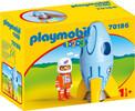Playmobil Playmobil 70186 1.2.3 Fusée et astronaute 4008789701862