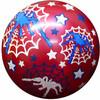 """Fabricas Selectas Ballon rouge araignée 8"""" non gonflé (Inflate-a-ball) 754316132015"""