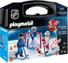 Playmobil Playmobil 9177 LNH Mallette transportable Tirs de Barrage (NHL) 4008789091772