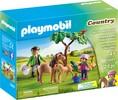 Playmobil Playmobil 5687 Vétérinaire avec enfant et poneys (juil 2016) 4008789056870