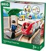 BRIO Train en bois BRIO Circuit correspondance Train / Bus BRIO 33209 7312350332094