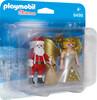 Playmobil Playmobil 9498 Duo Père Noël et Ange 4008789094988