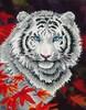 Diamond Dotz Broderie diamant Tigre blanc en automne (White Tiger in Autumn) Diamond Dotz (Diamond Painting, peinture diamant) 4897073240824
