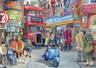 Falcon de luxe Casse-tête 1000 la vie en ville, Royaume-Uni 8710126110904