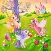 Ravensburger Casse-tête 49x3 poneys au pays des merveilles 4005556093069