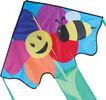Premier Kites Cerf-volant monocorde large facile à voler abeille et fleur 630104440572