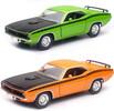 New-Ray Toys 1970 Plymouth Cuda 2/C 1:25 Die cast 093577718737
