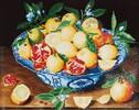 Diamond Dotz Broderie diamant Citrons et Orange (Still Life with Lemons) (Hulsdonck) Diamond Dotz (Diamond Painting, peinture diamant) 4897073240909