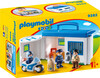 Playmobil Playmobil 9382 1.2.3 Commissariat de police transportable 4008789093820