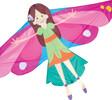 Premier Kites Cerf-volant monocorde fée volante 630104449360