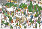 Jumbo Casse-tête 2000 Jan van Haasteren - Marché de Noël 8710126190623