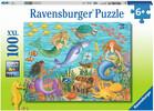 Ravensburger Casse-tête 100 XXL Amis sous-marins 4005556108381