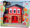 Playgo Toys Happy Collection Caserne de pompier 191162098445