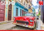 Jumbo Casse-tête 500 La Havane et voiture ancienne rouge, Cuba 8710126188033