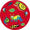 """Fabricas Selectas Ballon rouge insectes 8"""" non gonflé (Inflate-a-ball) 754316132060"""
