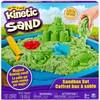 Kinetic Sand Kinetic Sand bac et moules à sable vert (sable cinétique) 778988181379