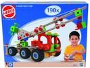 HEROS HEROS Constructor Grue mobile, 190 pièces en bois 4051902390399