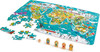 Hape 2-in-1 world tour puzzle & game 6943478024007