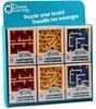 Mind Matters Toys Labyrinthe à billes en bois pour adulte, petit (unité) (varié) 067233202953