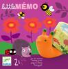 Djeco Little mémo (fr/en) jeu de mémorie 3070900085527
