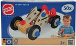 HEROS HEROS Constructor Auto de course, 50 pièces en bois 4051902390160