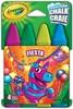 Crayola 4 craies de trottoir lavables Fiesta 063652365200