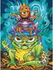 """Dimensions PaintWorks Dessin à numéros pile de monstres 9x12"""" 91495 088677914950"""