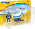 Playmobil Playmobil 9383 1.2.3 Hélicoptère de police 4008789093837