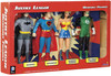 Toysmith Figurines super-héros La Ligue des justiciers, Batman, Superman, Wonder Woman, Green Lantern (Justice League) 085761189171