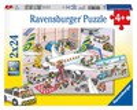Ravensburger Casse-tête 24x2 autour de l'avion 4005556090884