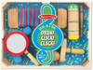 Melissa & Doug Instruments de musique Rataplan! Clic! Clac!, Guiro hochet, Kokiriko, Tambour tibétain, Agogô Melissa & Doug 8962 000772089623
