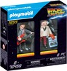 Playmobil Playmobil 70459 Retour vers le futur avec Marty McFly et Dr. Emmett Brown (Back to the Future) 4008789704597