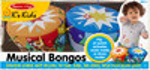 Melissa & Doug Bongos musicaux souples Melissa & Doug 9194 000772091947