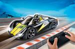 Playmobil Playmobil 9089 Voiture de course noire radiocommandée 4008789090898